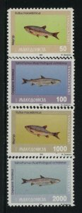 Macedonia MNH Sc 8-11 Fishes