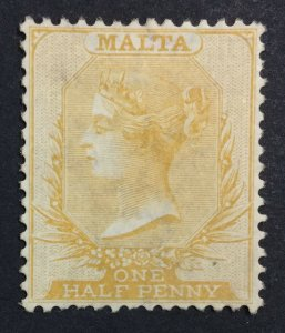 MOMEN: MALTA SG # 1863-81 CROWN CC MINT OG H LOT #226428-5526
