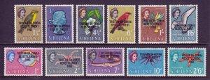 Tristan da Cunha - Scott #55//65 - Short set - MNH - See description - SCV $11