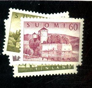 FINLAND 336-338A MUNT VF NH Cat $26