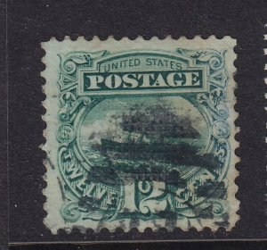 117 VF+ used neat cancel with nice color cv $ 130 ! see pic !