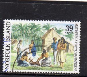 Norfolk Island Mutineers and  Polynesians Maidens  Used
