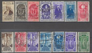 COLLECTION LOT # 4983 ITALY 14 STAMPS 1933+ CV+$27