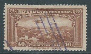 Honduras, Sc #C81, 40c Used