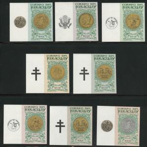 Paraguay  Scott 858-865  MNH** set
