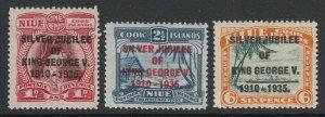 Niue, Scott 98-100 (SG 113-115), MNH