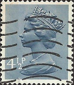 GREAT BRITAIN  - MH49- Used - SCV-0.25