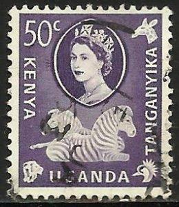 Kenya, Uganda & Tanzania 1960 Scott# 127 Used