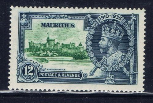 Mauritius 205 Hinged KGV Silver Jubilee