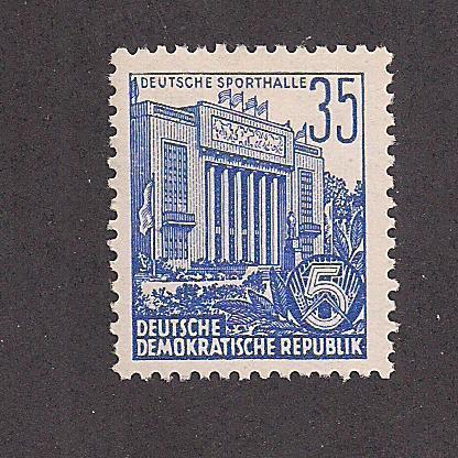 GERMANY - DDR SC# 199 F-VF OG 1953