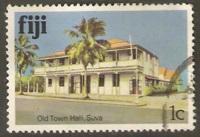 Fiji Used Sc 409 Old Town Hall, Suva