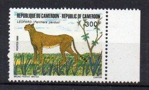 CAMEROUN - 1986 - FAUNA - LEOPARD - 300 f -