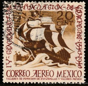 MEXICO C111,  20cts 400th Anniversary of Campeche. USED. F-VF. (880)