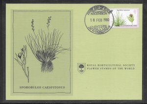 Just Fun Cover #253 FDC Royal Horticultural Society. (my5414)