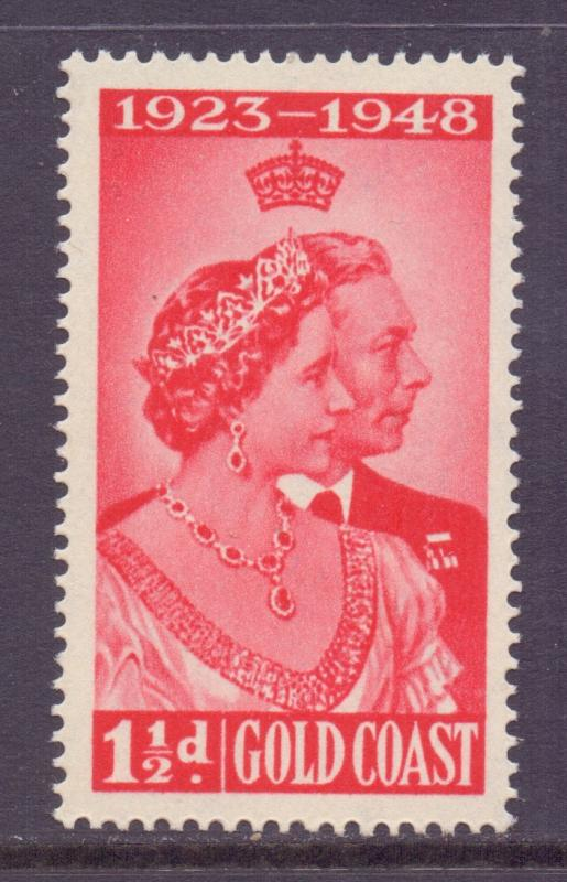 Gold Coast Scott 142 - SG147, 1948 Silver Wedding 1.1/2d MNH**