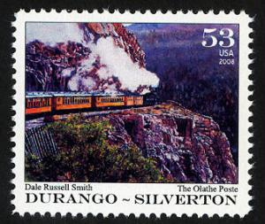 Durango-Silverton: Railroad Art Topical - Cinderella - MNH