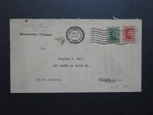 Uruguay 1932 Cover to Chicago USA - Z8721