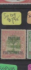 NORTH BORNEO  (P2601B)  BP TREE  3C  SG 129   MOG