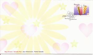 2011 Canada FDC Sc 2435 - Celebration - gift Package - valley at UL