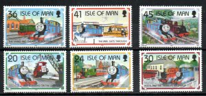 Isle of Man 656-661 MNH