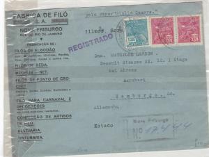 Brazil 1932  stamp cover Ref 9019