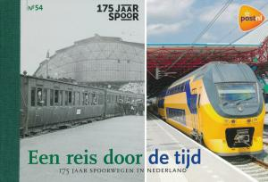 [20759] Netherlands 2014 Railway Train Eisenbahn Prestige Booklet PR54