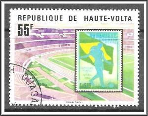 Upper Volta #456 World Cup Soccer CTO