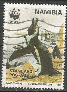 NAMIBIA, 1997, used Std, Penguins. Scott 821