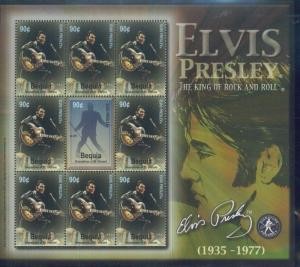 ELVIS PRESLEY Mini Sheet of 9 #322 MNH - St.Vincent & Bequuia E5