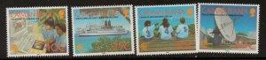 CAYMAN ISLANDS SG848/51 1997 TELECOMMUNICATIONS   MNH