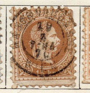 Austria 1867 Early Issue Fine Used 15kr. NW-11538
