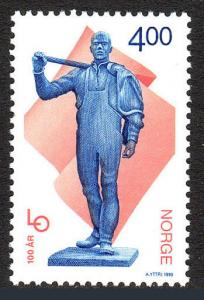 Norway 1218, MNH. Norwegian Confederation of Trade Unions, cent. 1999