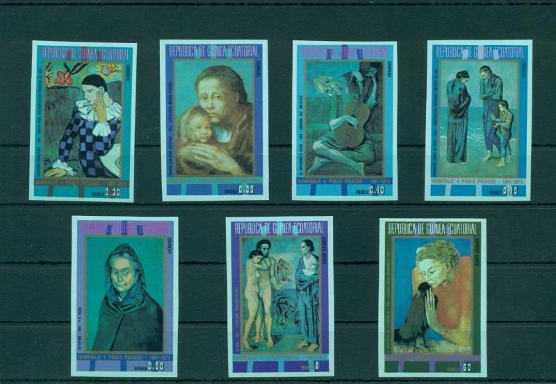 Art Paintings Guinea Mnh Stamps Set Stamps Topical Stamps