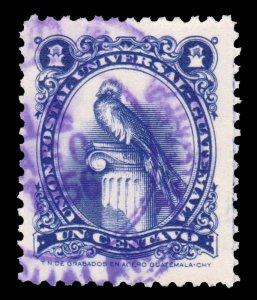 GUATEMALA STAMP 1954. SCOTT # 354. USED. # 2