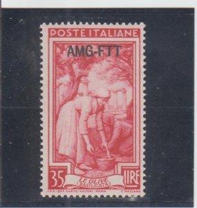 Trieste  Scott#  101  MH  (1950 Overprinted)