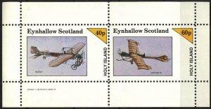 {E153} Eynhallow Scotland Aviation Airplanes (1) Sh.2 MNH Cinderella !!
