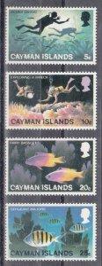 Cayman Islands Scott #382-385 MNH