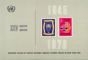 United Nations New York (Souvenir Year Set) Mint 1970