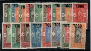 Togo Scott 193-209 Mint NH [TE924]