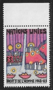 United Nations UN Geneva 1983 - Scott # 119 Mint NH Ships Free With Another Item