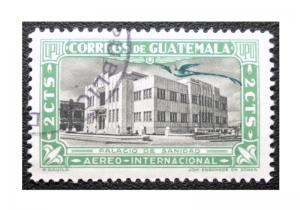 GUATEMALA 1939 AIRMAIL STAMP SCOTT # C112. USED.