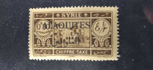 Alaouites #J6 mint hinged e21.4 13131