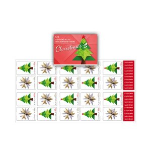 Christmas stamps of Australia 2019. - Booklet of 20. Secular stamps.