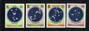 Tristan De Cunha  356 - 359   MNH $ 2.60