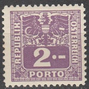 Austria #J186 MNH (S8950)