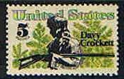 Scott #1330  MNH Davy Crockett