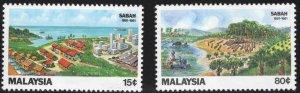 Malaysia Scott 228-229 MNH** Sabah set