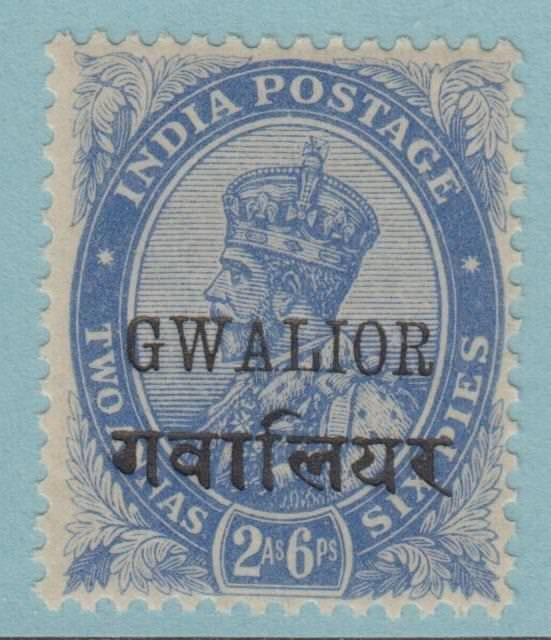 INDIA GWALIOR STATE 68 MINT HINGED OG * NO FAULTS EXTRA FINE !
