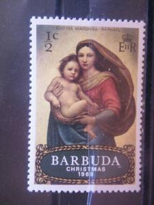 BARBUDA, 1969, MNH 1/2c, Scott 39