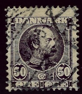 Denmark SC#68 Used Fine hr SCV$120.00...Beautiful Denmark!